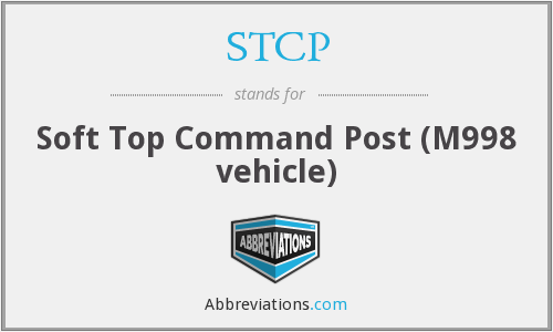 STCP - Soft Top Command Post (M998 vehicle)