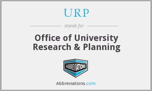 URP - Office of University Research & Planning