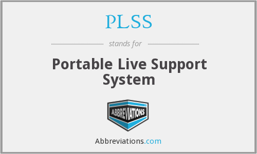 PLSS - Portable Live Support System