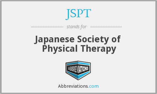 JSPT - Japanese Society of Physical Therapy