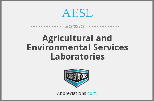 AESL - Agricultural and Environmental Services Laboratories