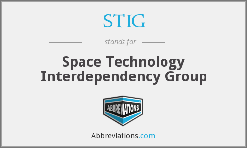 STIG - Space Technology Interdependency Group