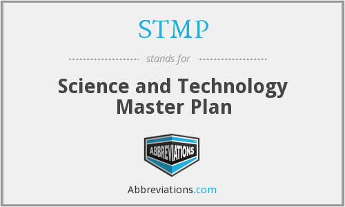 STMP - Science and Technology Master Plan