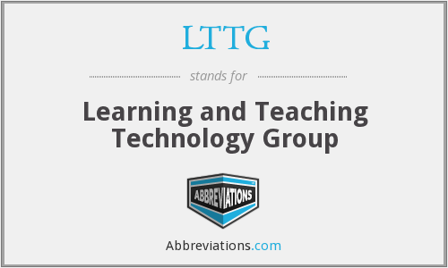 LTTG - Learning and Teaching Technology Group