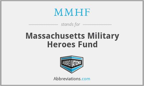 MMHF - Massachusetts Military Heroes Fund
