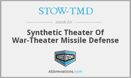 What does STOW-TMD stand for?