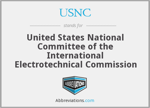 USNC - United States National Committee of the International Electrotechnical Commission