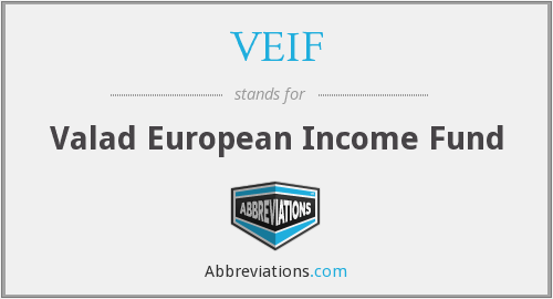 What does VEIF stand for?