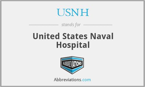 USNH - United States Naval Hospital