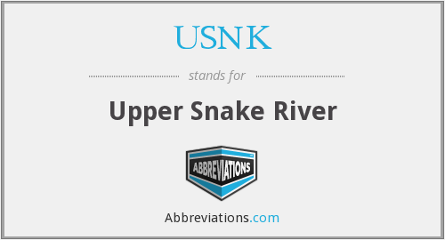What does USNK stand for?