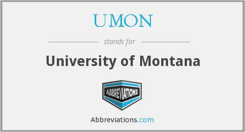 UMON - University of Montana