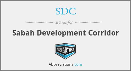 SDC - Sabah Development Corridor