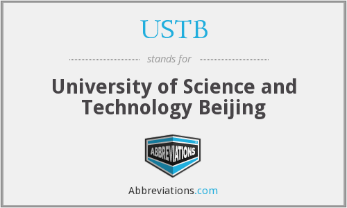 What does USTB stand for?