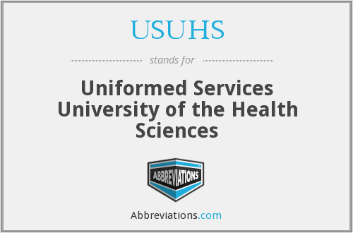 What does USUHS stand for?