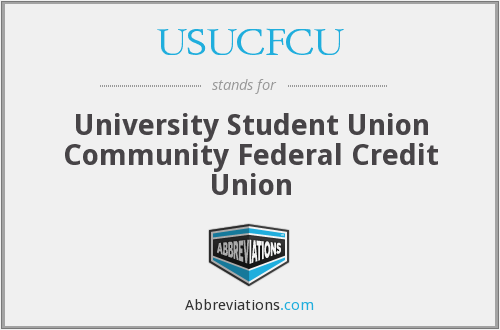 USUCFCU - University Student Union Community Federal Credit Union
