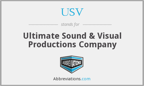 USV - Ultimate Sound & Visual Productions Company