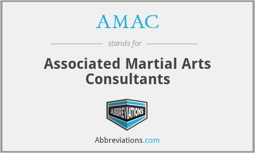 AMAC - Associated Martial Arts Consultants