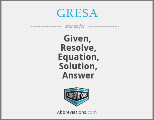 What does GRESA stand for?