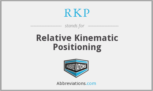RKP - Relative Kinematic Positioning