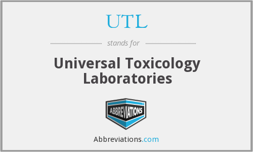 UTL - Universal Toxicology Laboratories