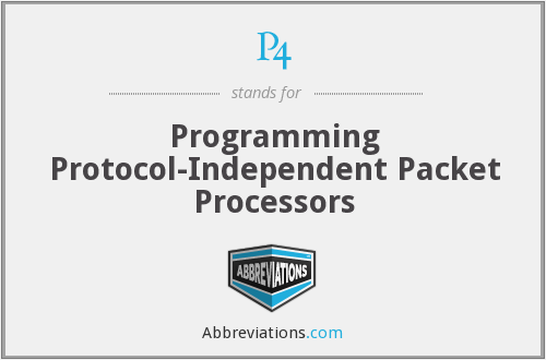 P4 - Programming Protocol-Independent Packet Processors