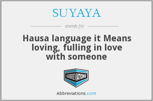 What does SUYAYA stand for?