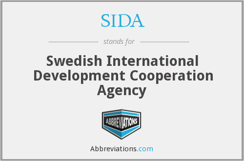 SIDA - Swedish International Development Cooperation Agency