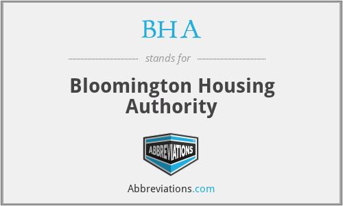 BHA - Bloomington Housing Authority