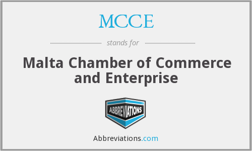 MCCE - Malta Chamber of Commerce and Enterprise