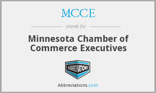 MCCE - Minnesota Chamber of Commerce Executives