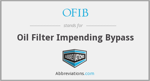 What does OFIB stand for?