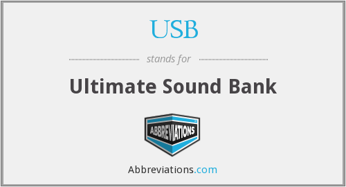 USB - Ultimate Sound Bank