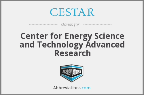 What does CESTAR stand for?