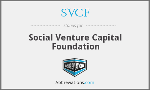 What does SVCF stand for?