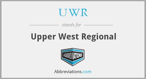 UWR - Upper West Regional