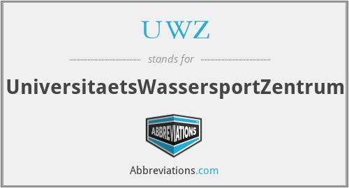 UWZ - UniversitaetsWassersportZentrum