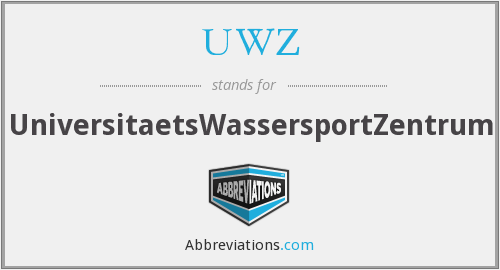 UWZ - UniversitaetsWassersportZentrum