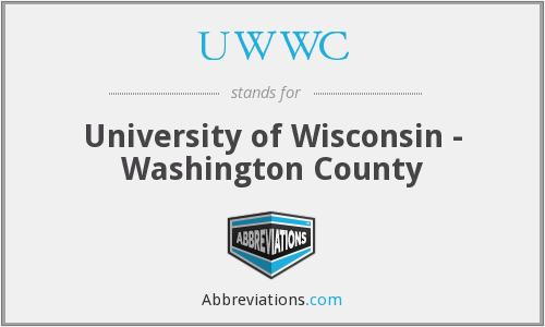 UWWC - University of Wisconsin - Washington County
