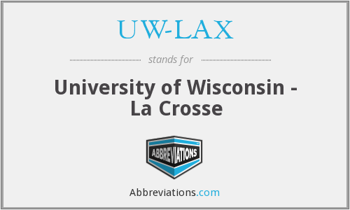 What does UW-LAX stand for?