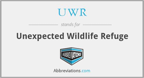 UWR - Unexpected Wildlife Refuge