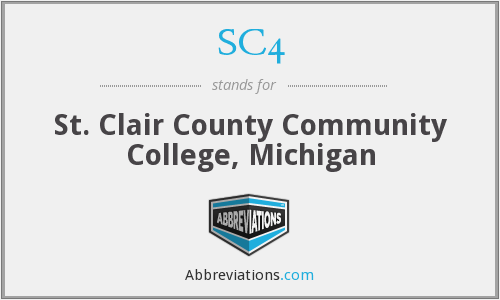 SC4 - St. Clair County Community College, Michigan