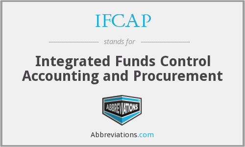 What does IFCAP stand for?