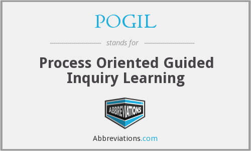POGIL - Process Oriented Guided Inquiry Learning