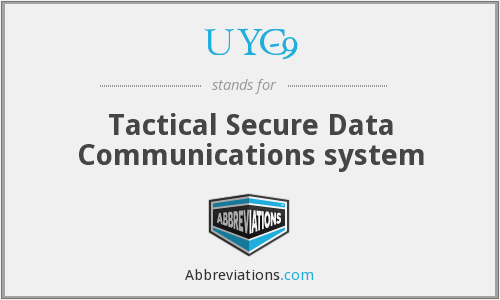 What does UYC-9 stand for?