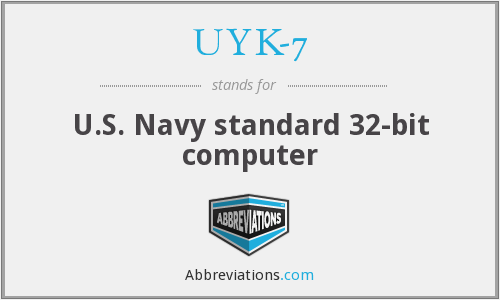What does UYK-7 stand for?