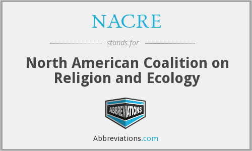 NACRE - North American Coalition on Religion and Ecology