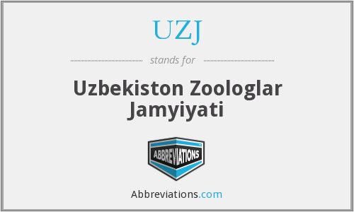 What does UZJ stand for?