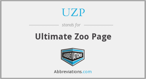 UZP - Ultimate Zoo Page