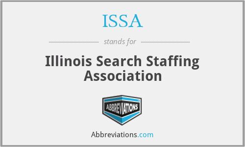ISSA - Illinois Search Staffing Association