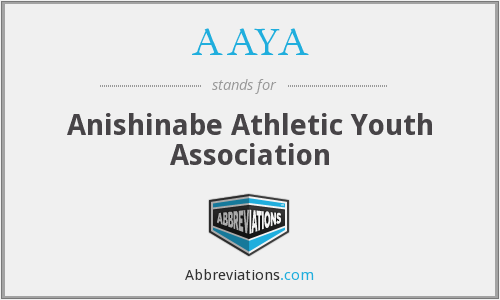 AAYA - Anishinabe Athletic Youth Association